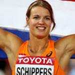 Daphne Schippers als overwinnaar